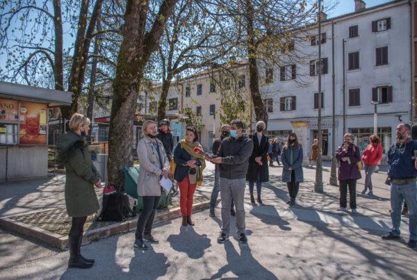 Možemo! Pazin - predstavljanje kandidatkinje za gradonačelnicu Grada Pazina i kandidata za zamjenika gradonačelnice