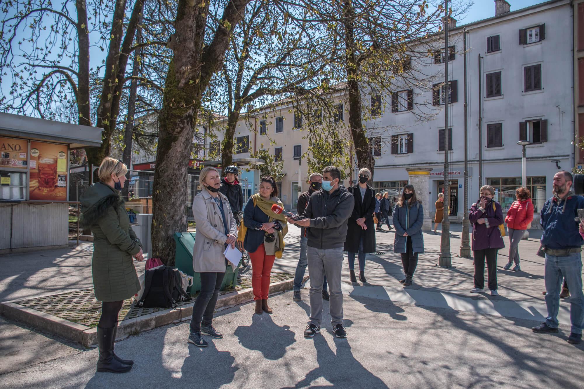 Održano javno predstavljanje kandidatkinje za gradonačelnicu Grada Pazina i kandidata za zamjenika gradonačelnice političke platforme Možemo!